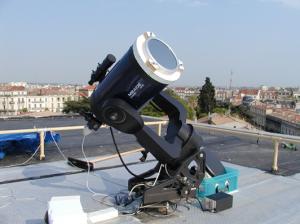 Un Télescope à la Babote pour les observations Planétaires ou solaires… en 1998
