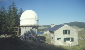 En 1985 la construction d'un observatoire de Montagne pour la recherche scientifique ...