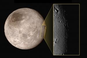 Détail d'une partie de Charon