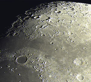 Autre vue du cratère Platon