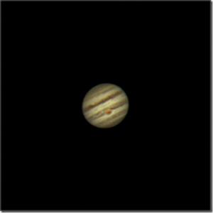 Une première image de Jupiter, dans toute sa splendeur.